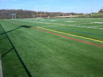 Football Field at North Strabane Municipal Park