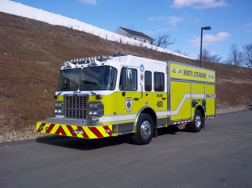 Engine 483 2011 Spartan Toyne Gladiator 750 Gallon 1500 GPM pump