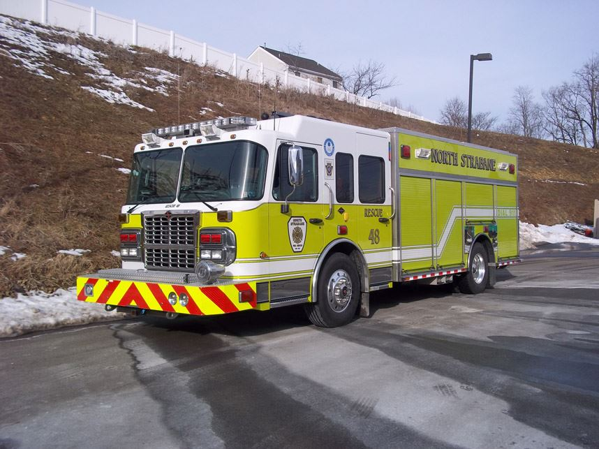 Rescue 48 2009 Spartan Toyne Gladiator 500 Gallon 1500 Pump